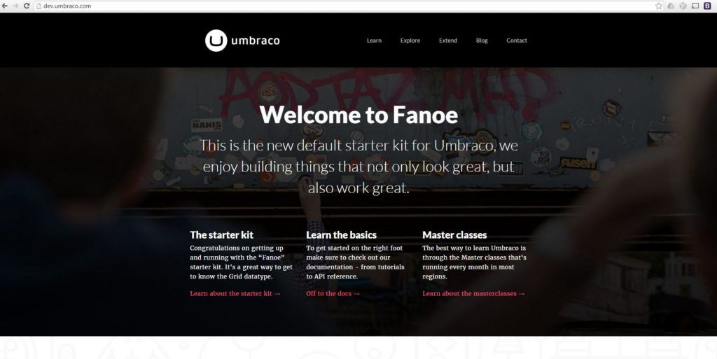 umbraco-default-front-end